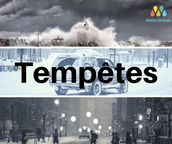 tempêtes