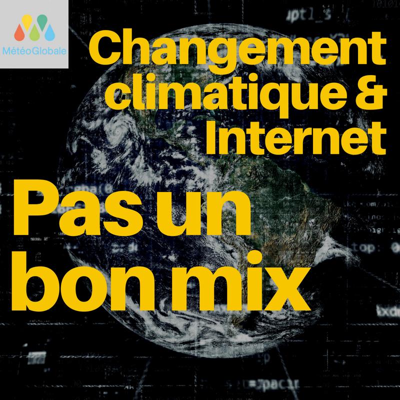 Changement Climatique & internet